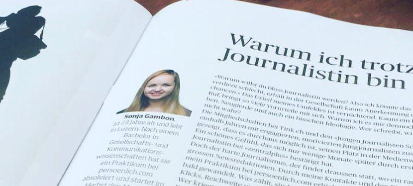 Warum ich trotzdem Journalistinbin